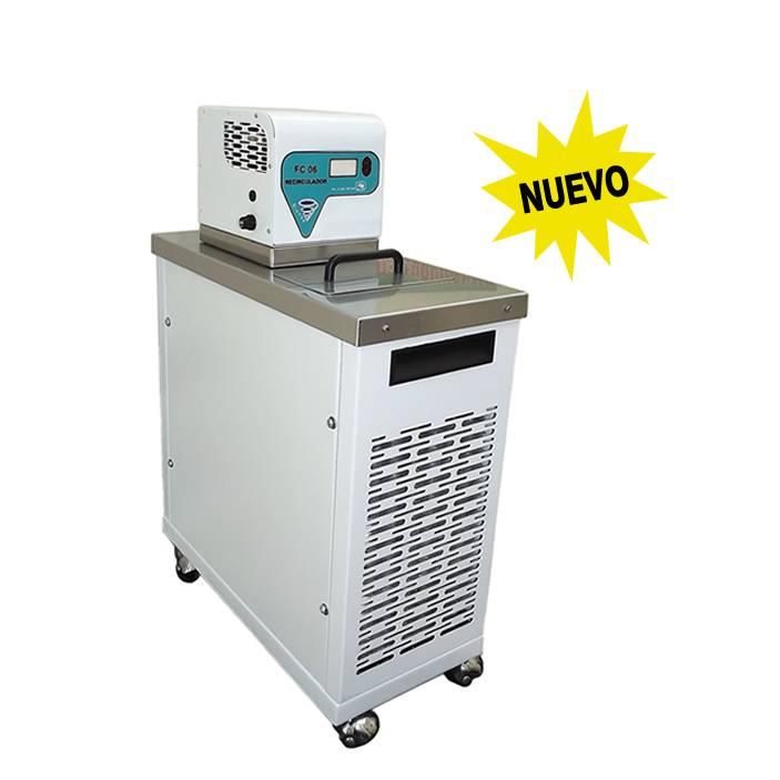 Ba o recirculador con enfriamiento y calentamiento sev prendo sistemas y equipos de vidrio - Temperatura agua bano bebe ...
